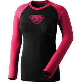 Dynafit Speed Dryarn Naiset Pitkähihainen juoksupaita , vaaleanpunainen/musta